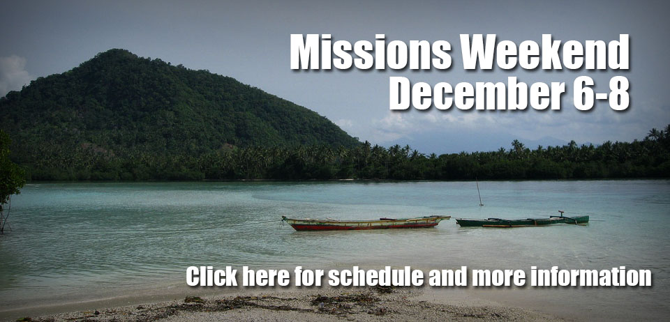 Missions Weekend Header