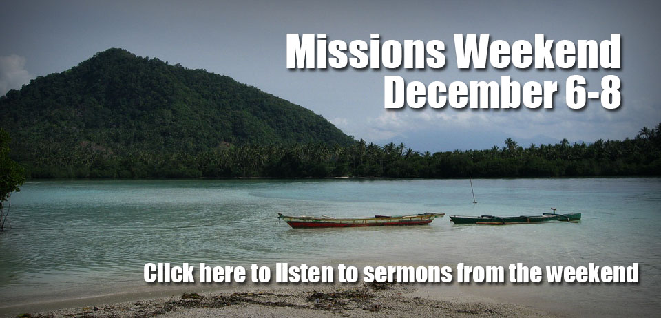 Missions Weekend Lookback